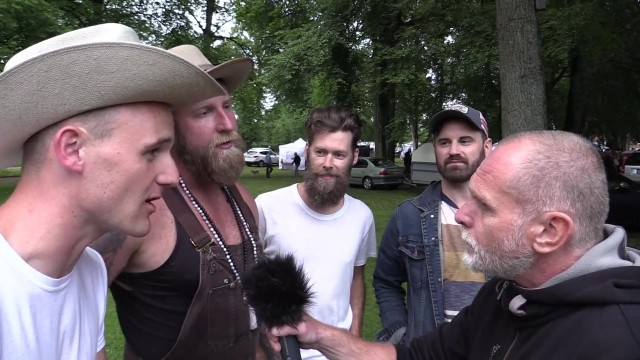 Intervju med Hogslop String Band